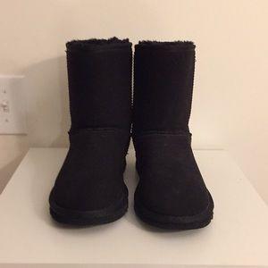 EUC UGG classic black boot Sz 10